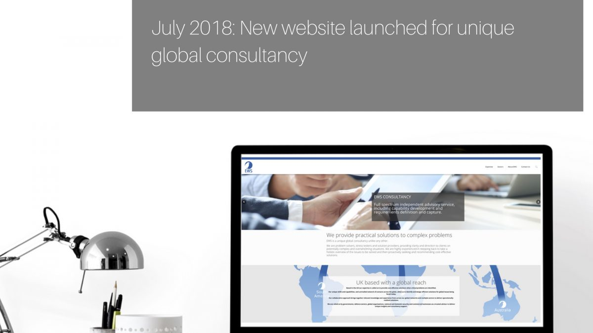 EW Solutions rebrands to EWS and launches new website.