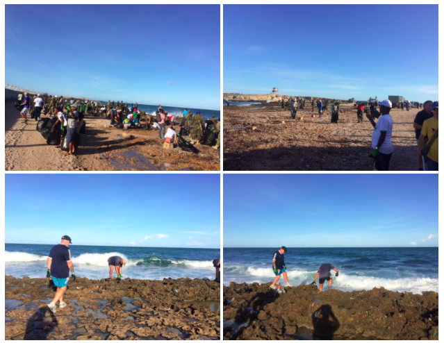 EWS FSRs join UNSOM beach clean-up in Mogadishu, Somalia