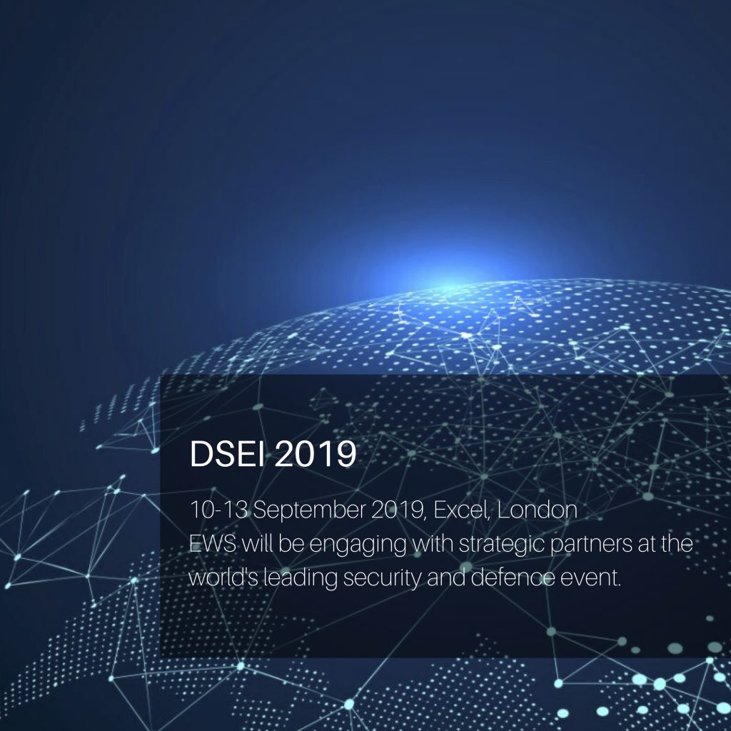 EWS is attending DSEI 2019 at Excel in London