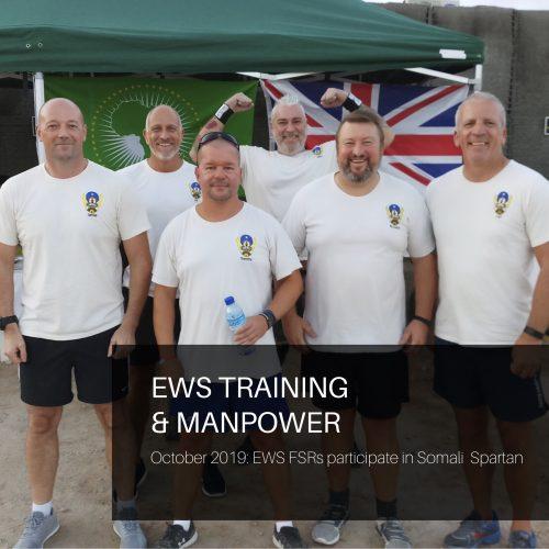 EWS FSRs participate in Somalia Spartan