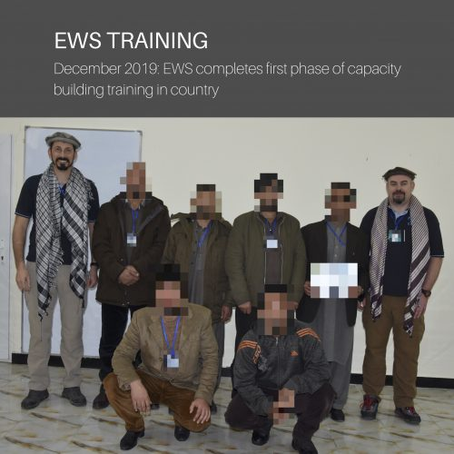 EWS completes first phase of capacity building training
