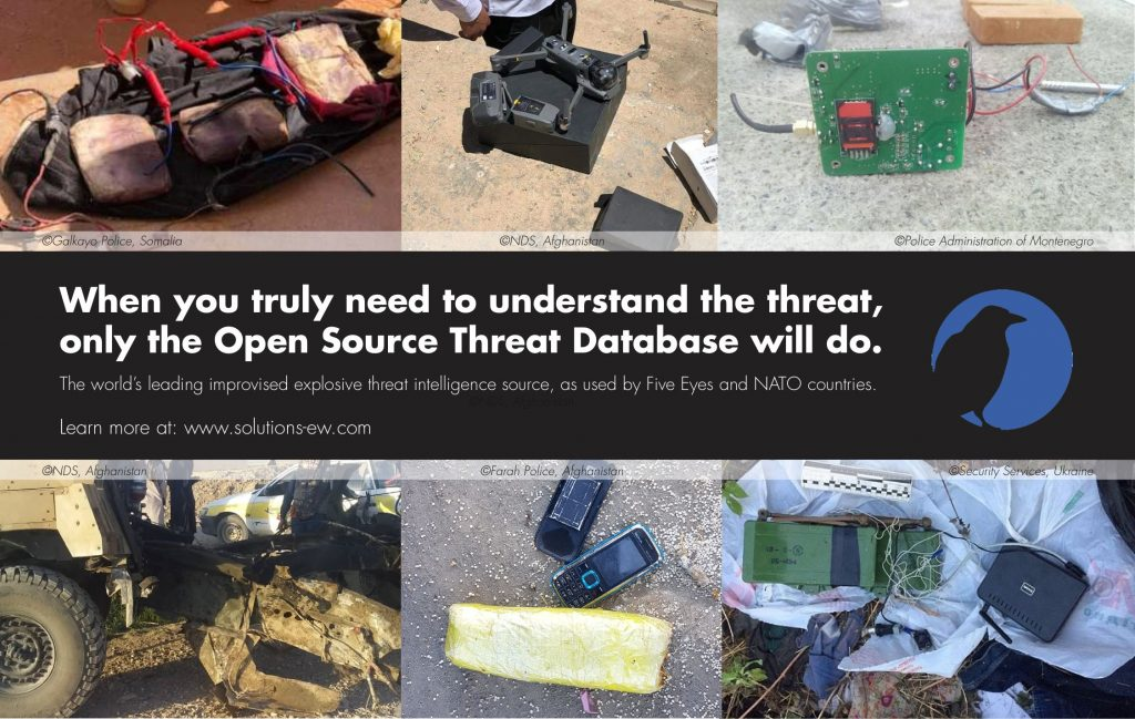 EWS explains the role open-source intelligence plays in defeating improvised threats