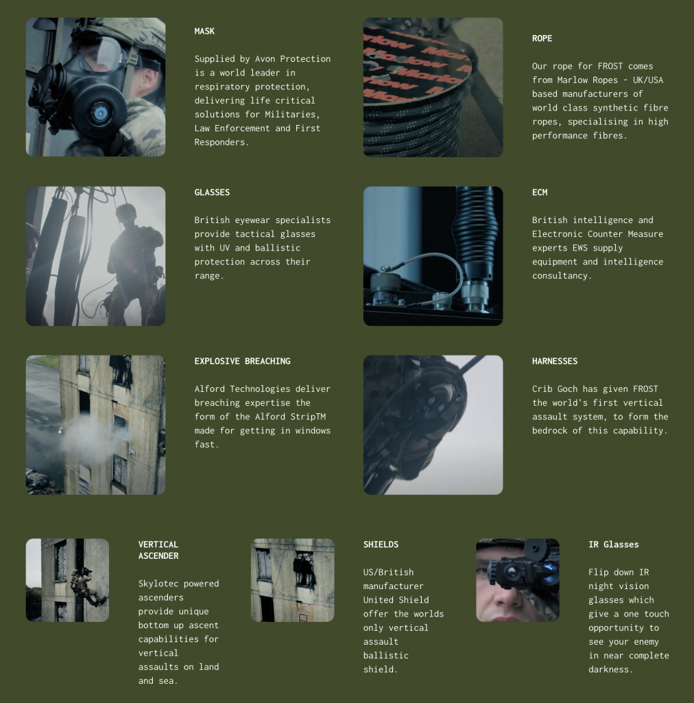 EWS is part of FROST, delivering complete urban vertical assault solutions