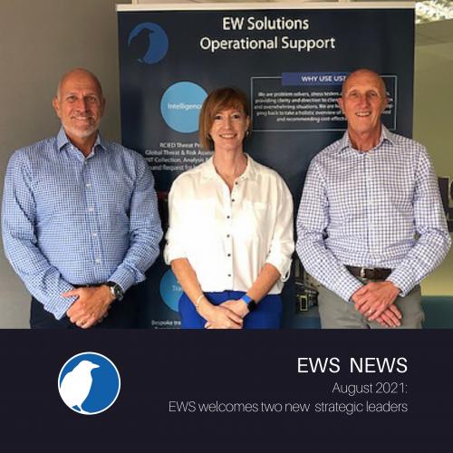Alf Cupper and Sue Beckett join EWS
