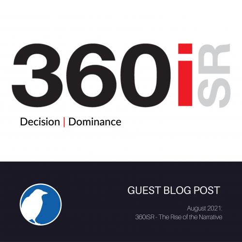 Guest blog post from Ewen Stockbridge from 360ISR