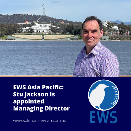 Stu Jackson has been appointed MD of EWS Asia Pacific based in Canberra, Australia