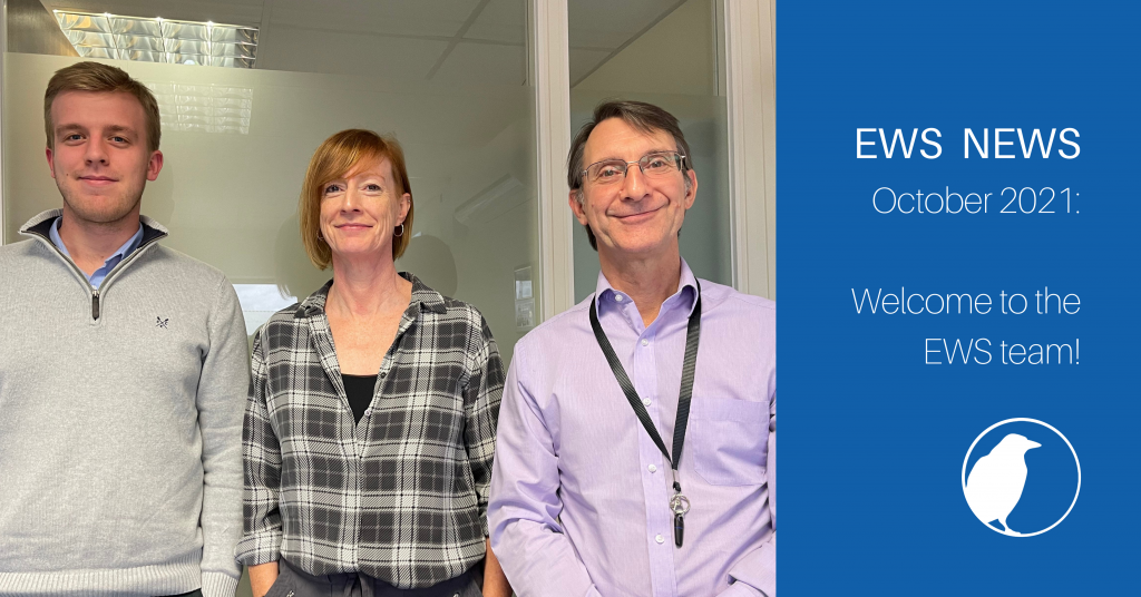 EWS welcomes two new members to the Intelligence Team